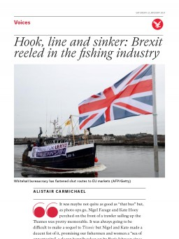 Hook, line and sinker: Brexit reeled in the fishing industry