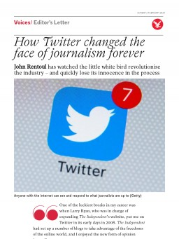 How Twitter changed the face of journalism forever