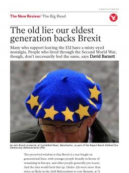 The old lie: our eldest generation backs Brexit